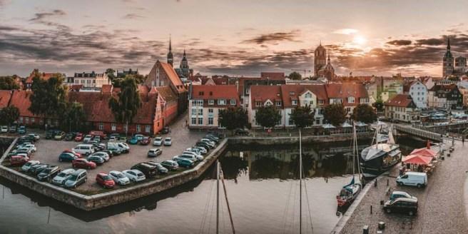 Stralsund Hafen