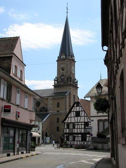 Erstein Kirche