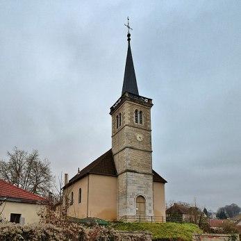 Fraisans l'église