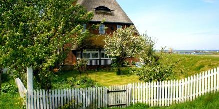 Amrum altes Bauernhaus