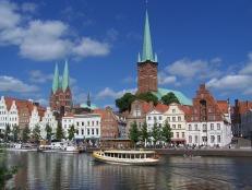 Lübeck an der Untertrave
