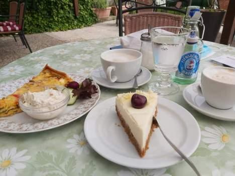 Kuchen im Mühlen Café