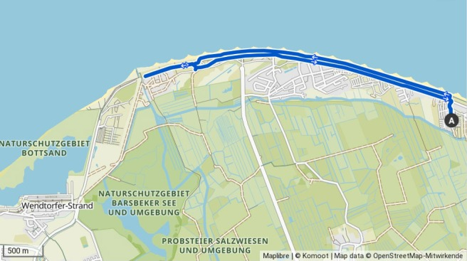Radtour zur Marina Wendtorf
