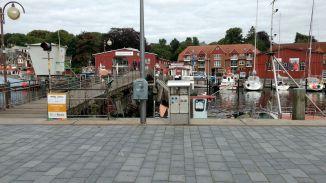 am Hafen in Eckernförde