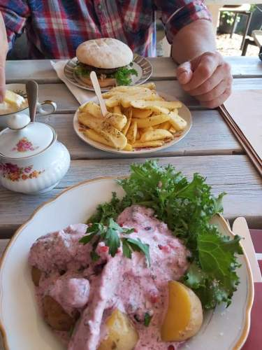 Burger und Matjes
