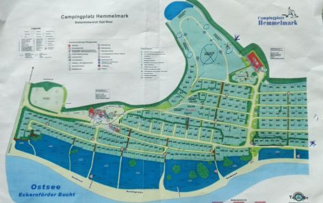 Platzplan CP Hemmelmark
