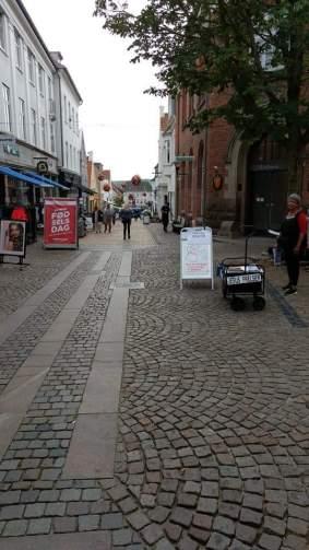 Apenrade Fußgängerzone