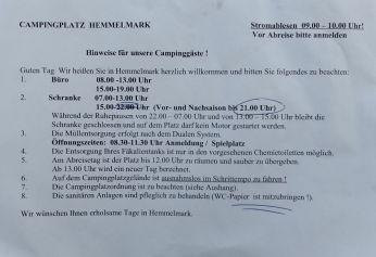 Hinweise CP Hemmelmark