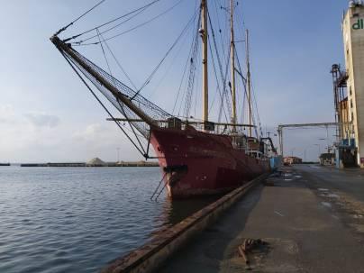 im Hafen von Assens