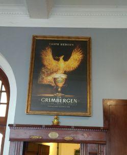 Plakat Grimbergen Bier