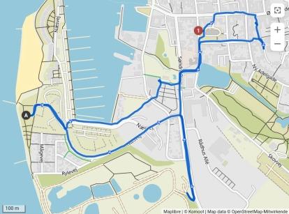 Radtour in die City Assens