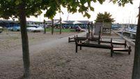 Restaurant und Spielplatz am SP Apenrade