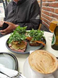 Smorrebrod im Café Konrads