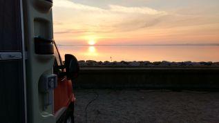 Sonnenaufgang Apenrade