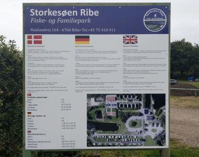 Stellplatztafel Storkesøen Ribe
